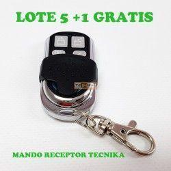 MANDO PARA RECEPTOR TNK. LOTE 5+1 GRATIS